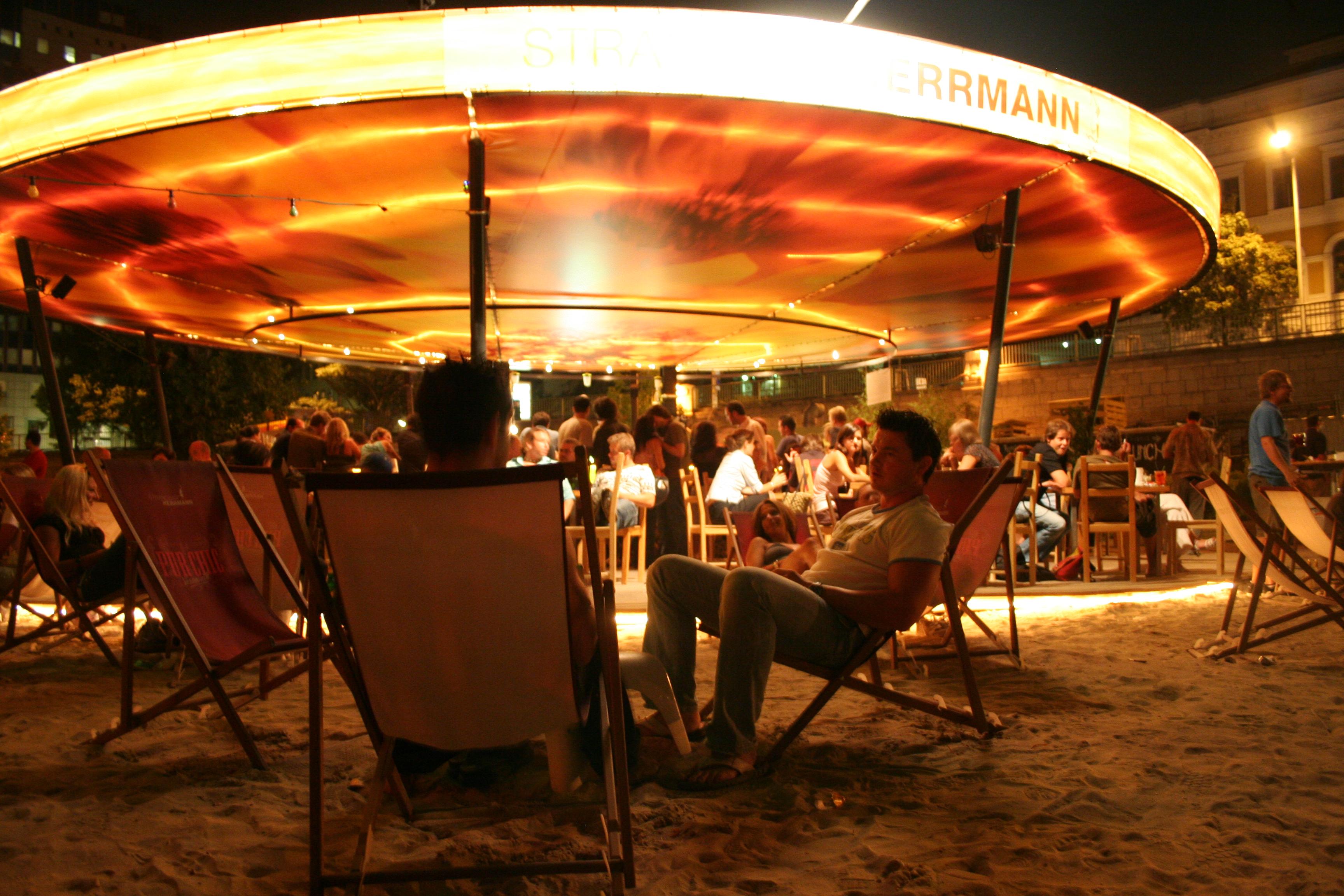 Fotos von der Strandbar