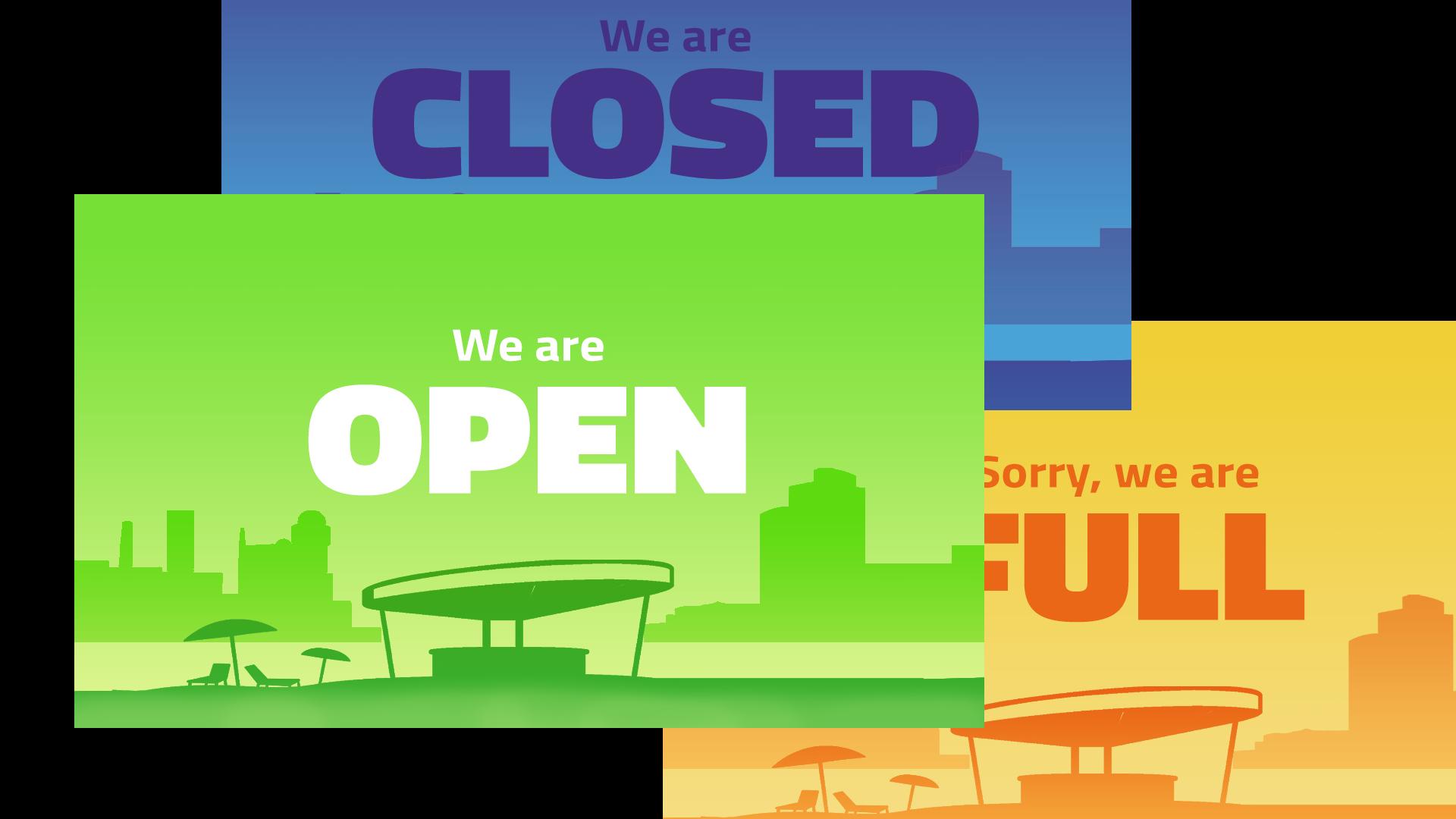 APP Open,Closed,Full